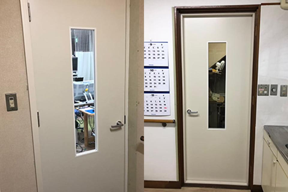 画像:指只オリジナル防音ドア